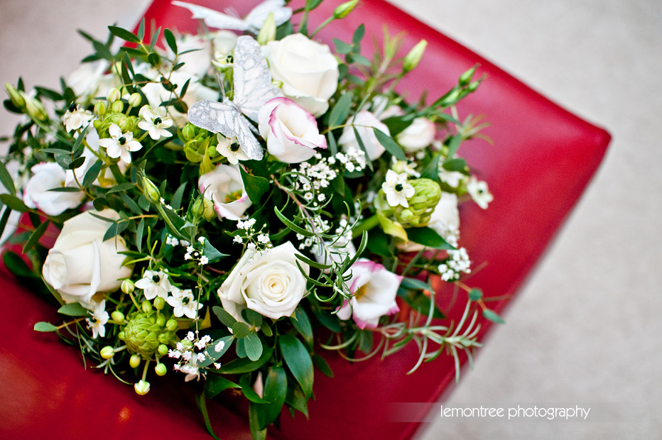 Wedding Bouquet - Isle of Wight Winter Wedding