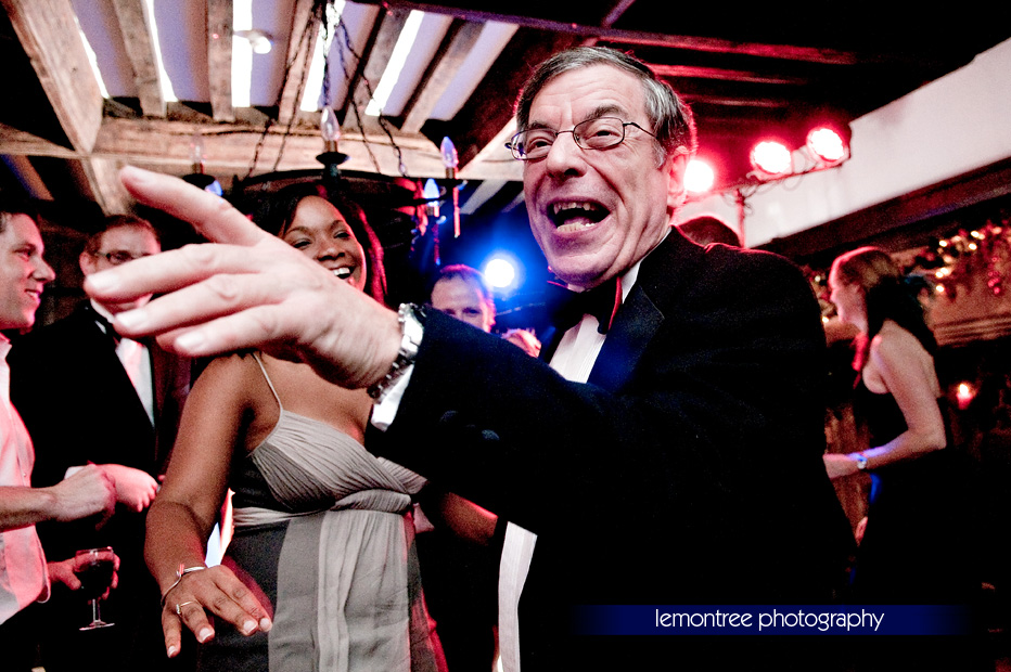 dancing at wedding reception by New Forest Photographer