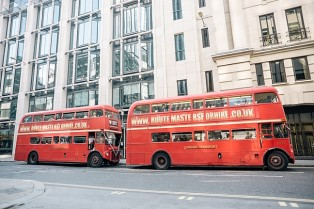 London Buses at Wedding