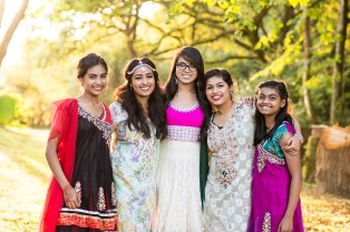 bangladeshi guests at new forest wedding