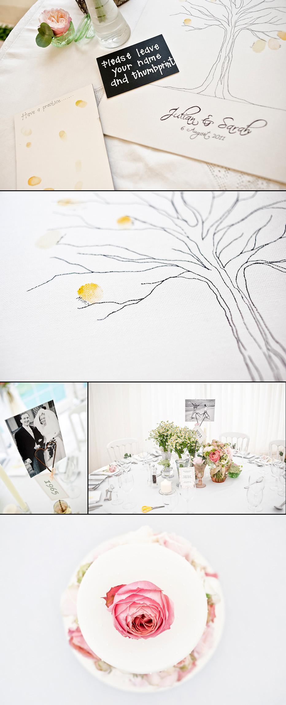 Wedding signing tree