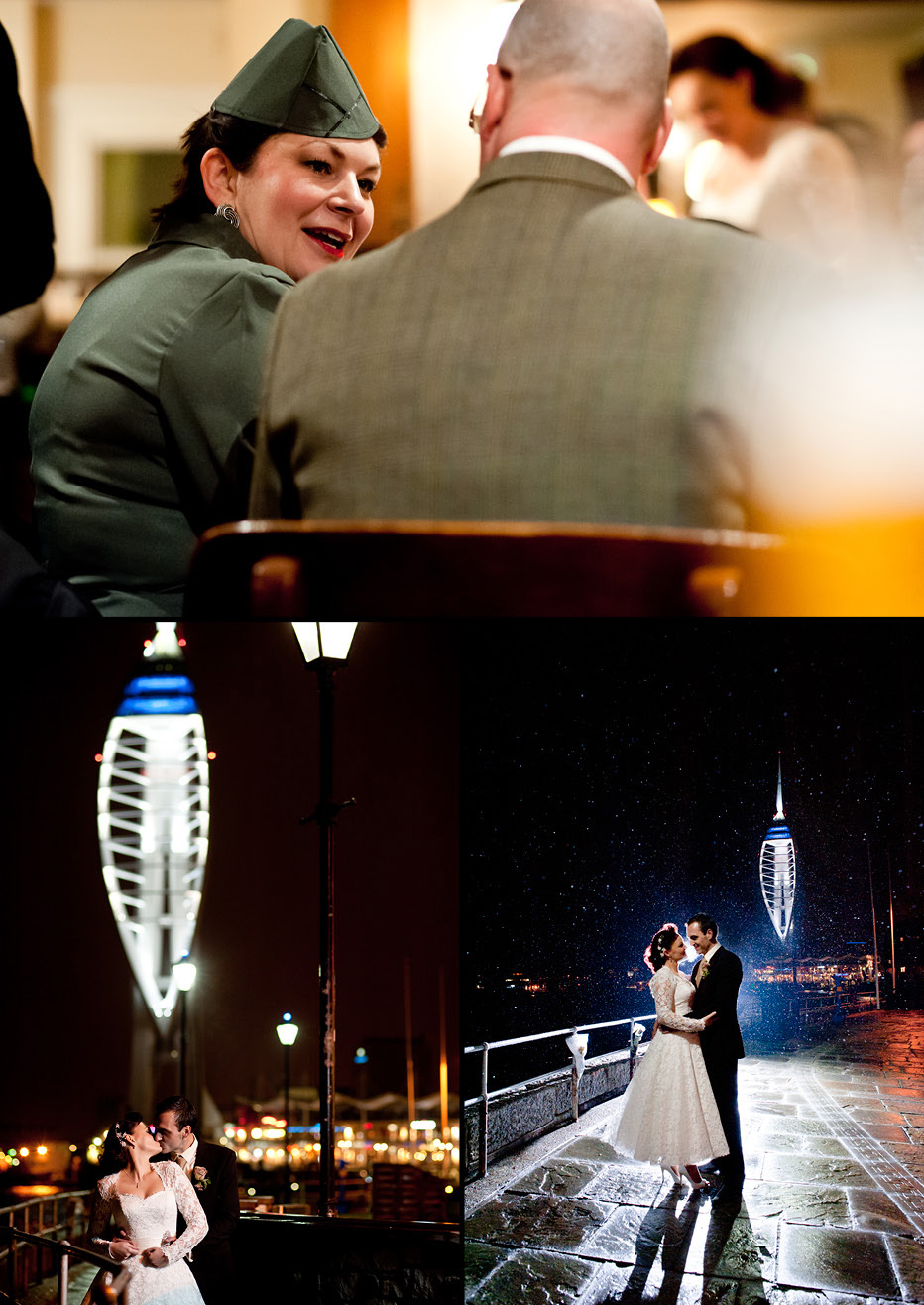 square tower wedding