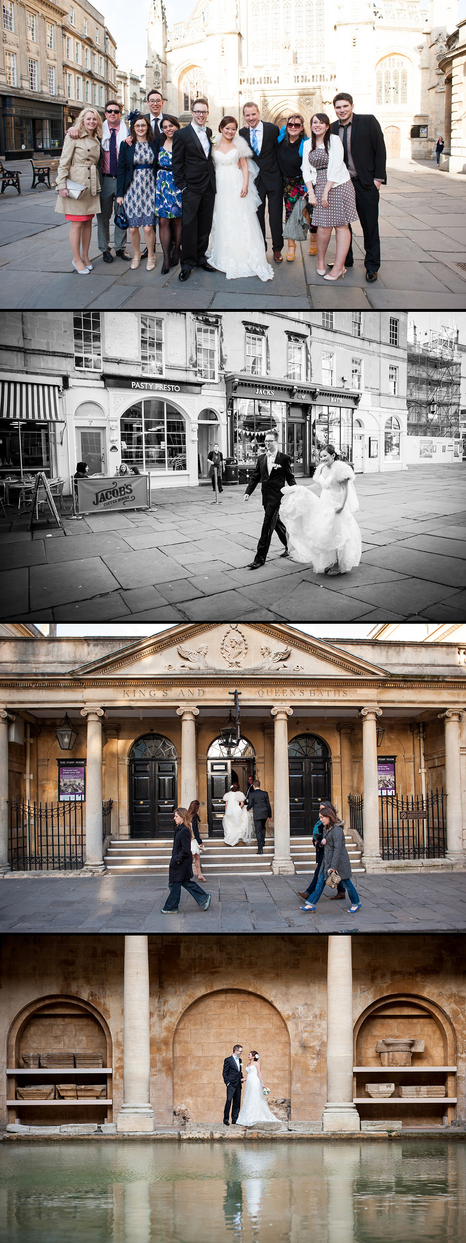 roman baths wedding photographer