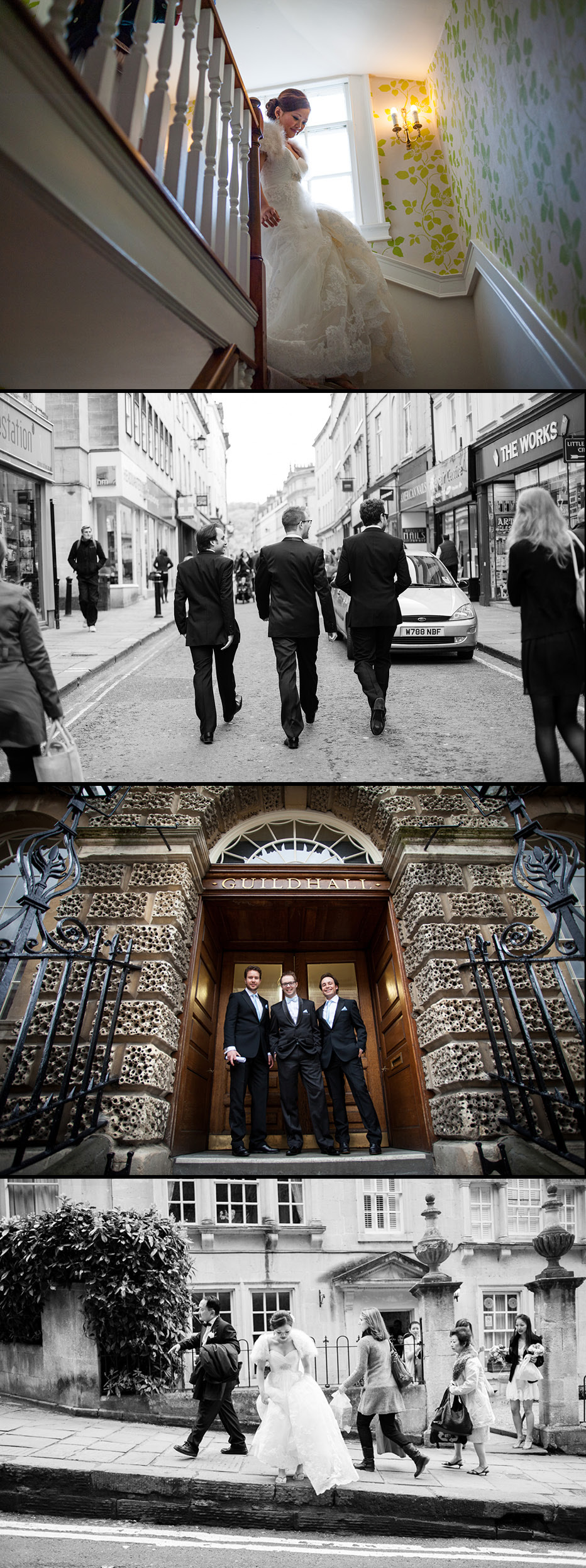 wedding in Bath city centre
