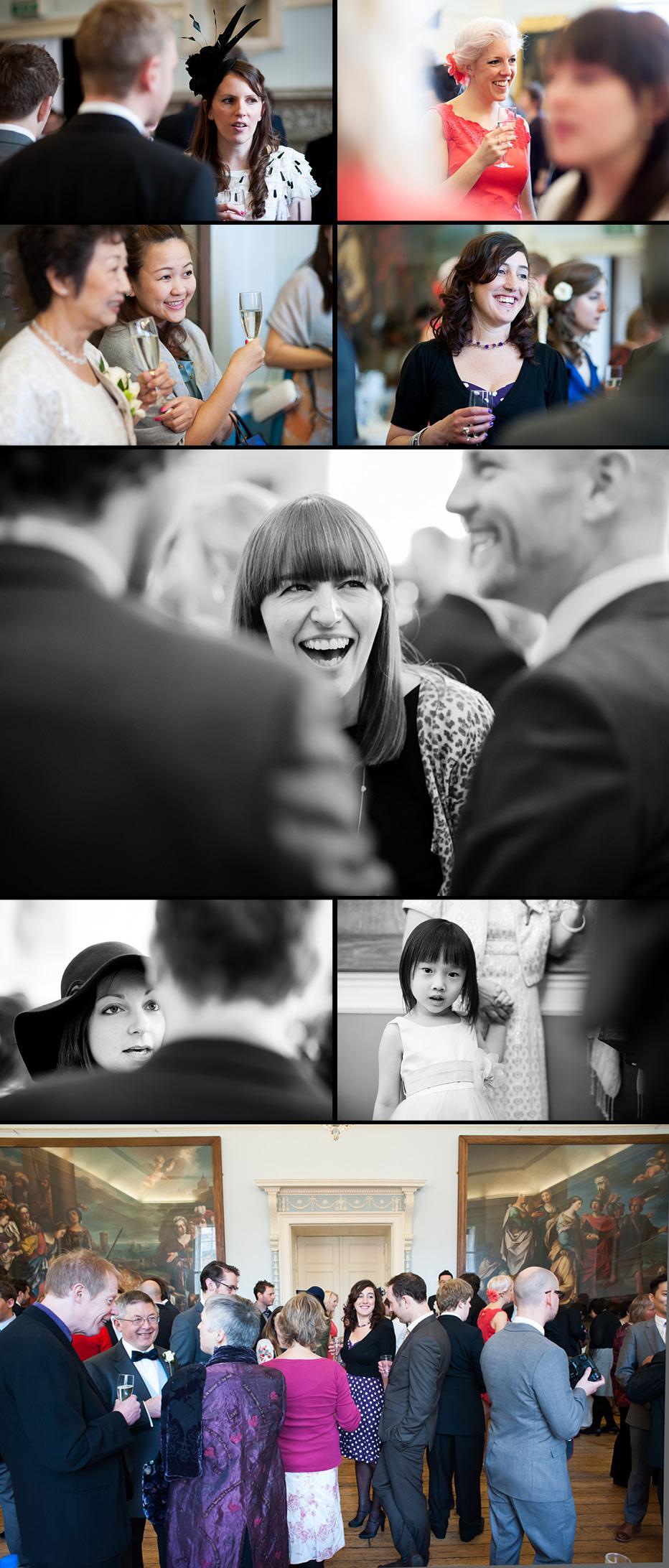 wedding reception at Bath Guildhall