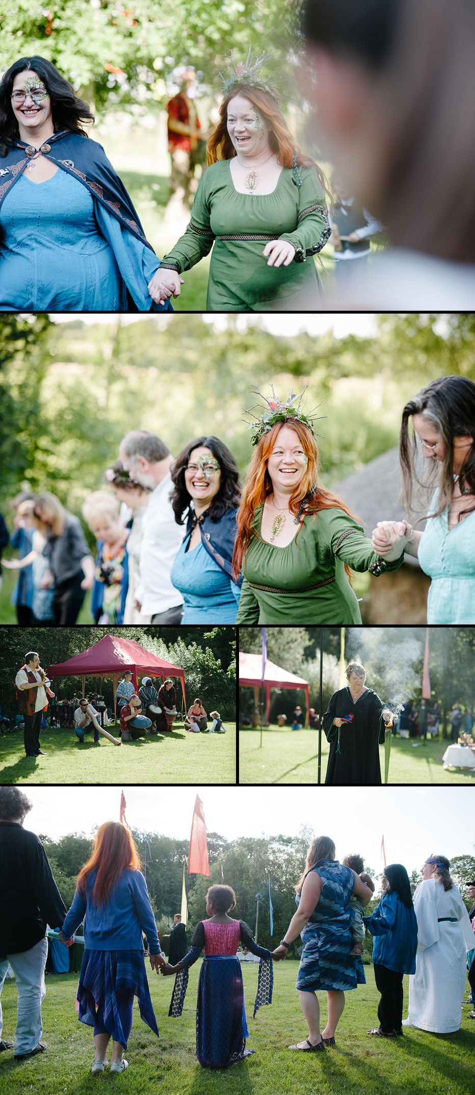 Outdoor New Forest Handfasting Ceremony