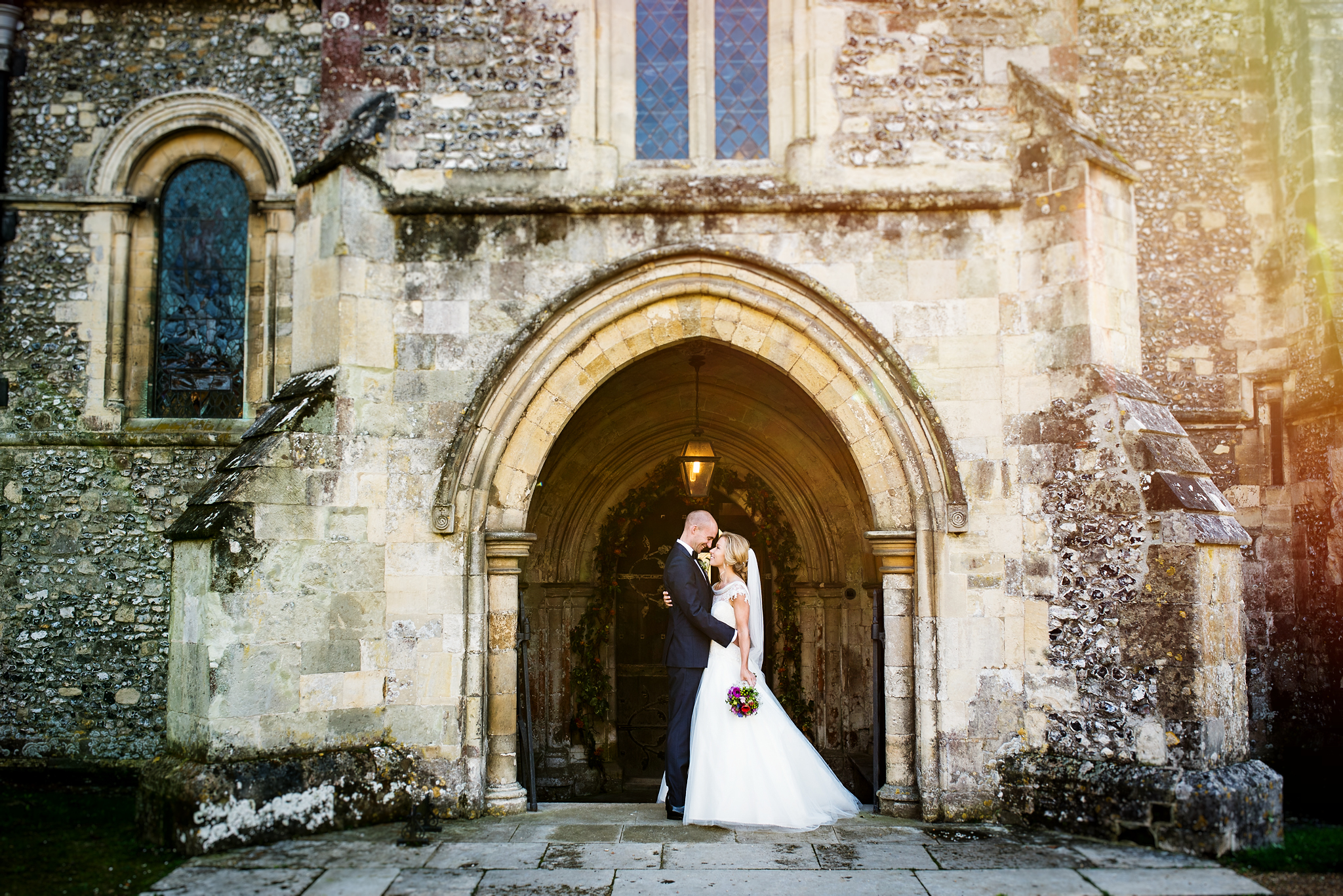 Hospital of St Cross Wedding Winchester in Winchester